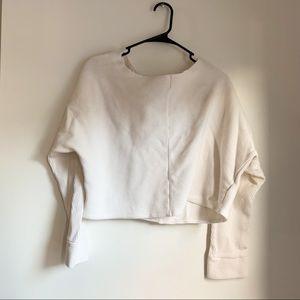 Ribbed GAP crop sweater